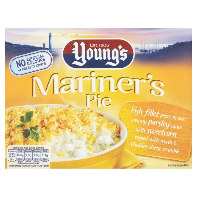 Young's Mariners Pie 340gr