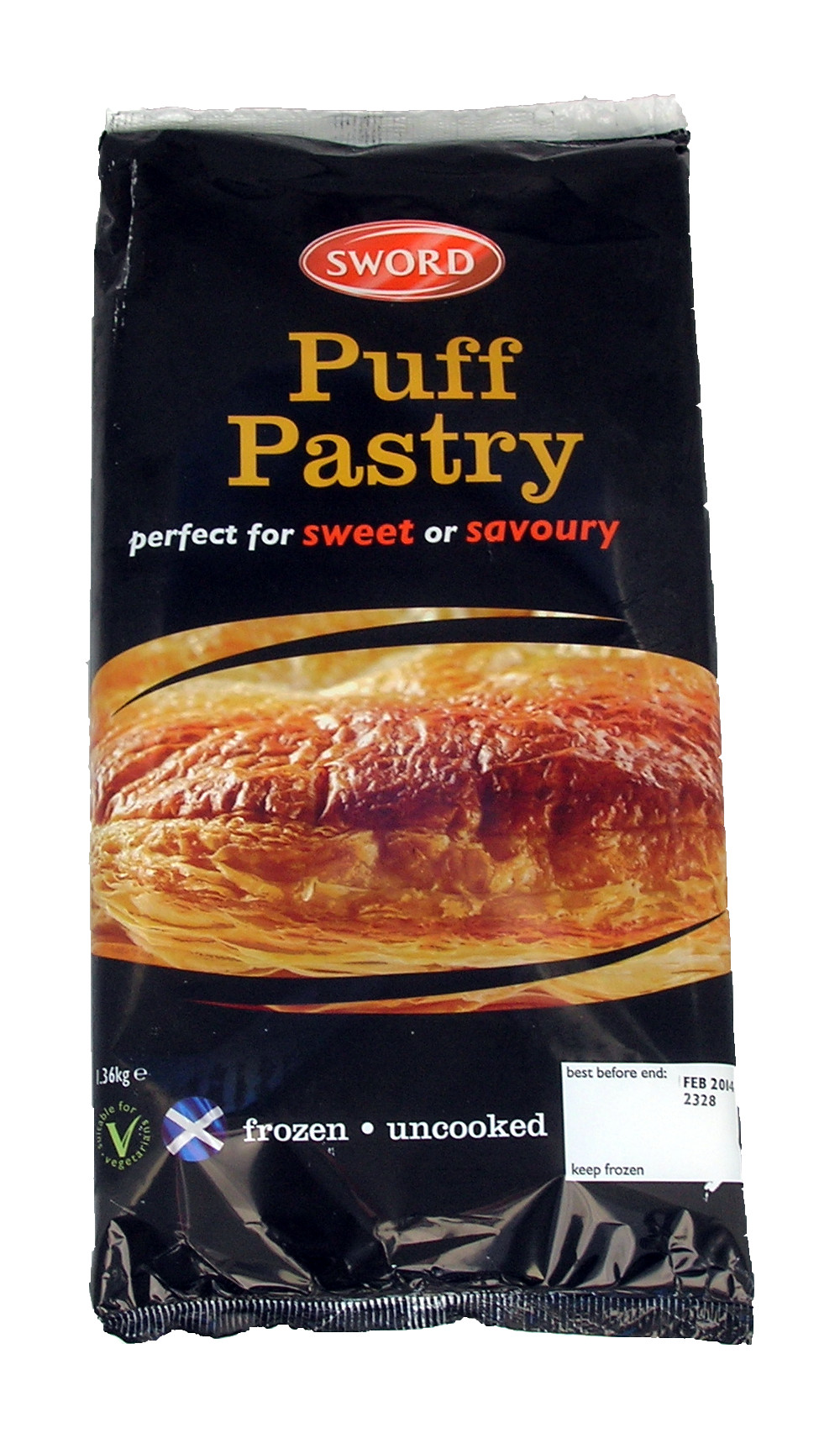 Sword Puff Pastry 340gr