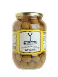 Ybarra Olives with Stones 370g