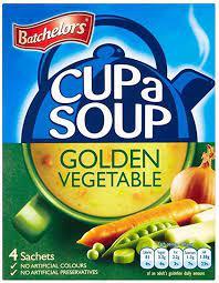 Batchelors Cup a Soup (4 pack) Golden Vegetable 82g