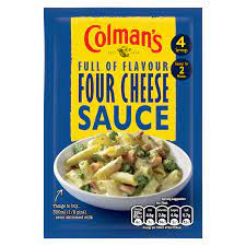 Colmans Four Cheese Sauce 40g
