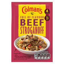 Colmans Beef Stroganoff 39g