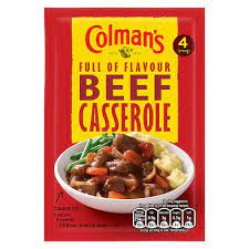 Colmans Beef Casserole 40g