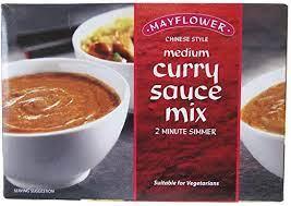 Mayflower Chinese Curry Sauce Mix Medium 255g