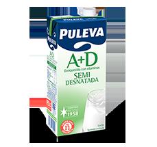 Puleva Semi-Skimmed Milk 1ltr