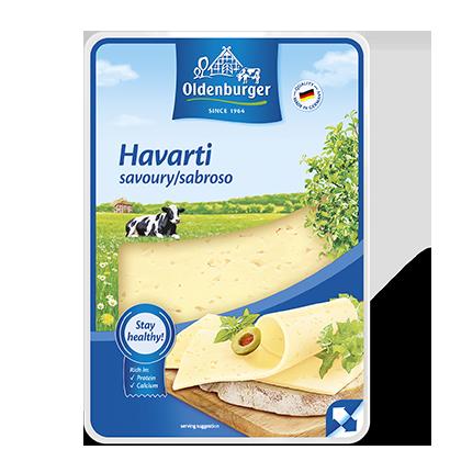 Oldenburg Havarti Sandwich Cheese Slices 200g