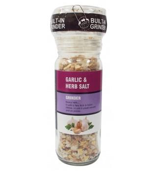 Garlic & Herb Salt Grinder 65g