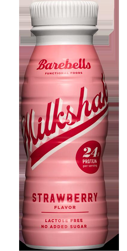 Barebells Strawberry Milkshake
