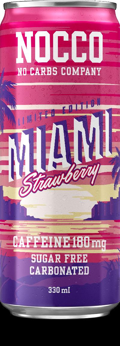 Nocco Miami Strawberry 330ml