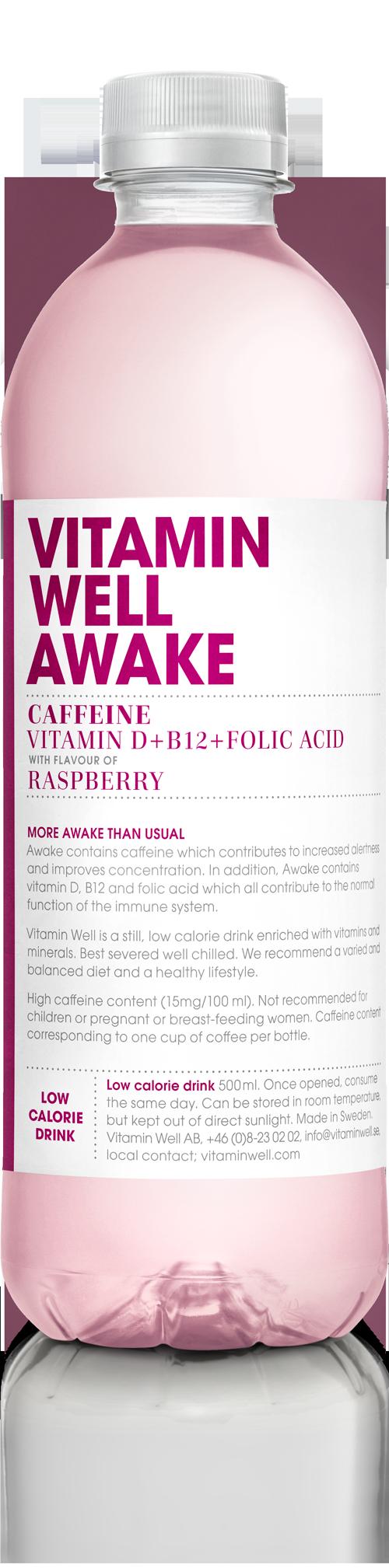 Vitamin Well Awake 500ml