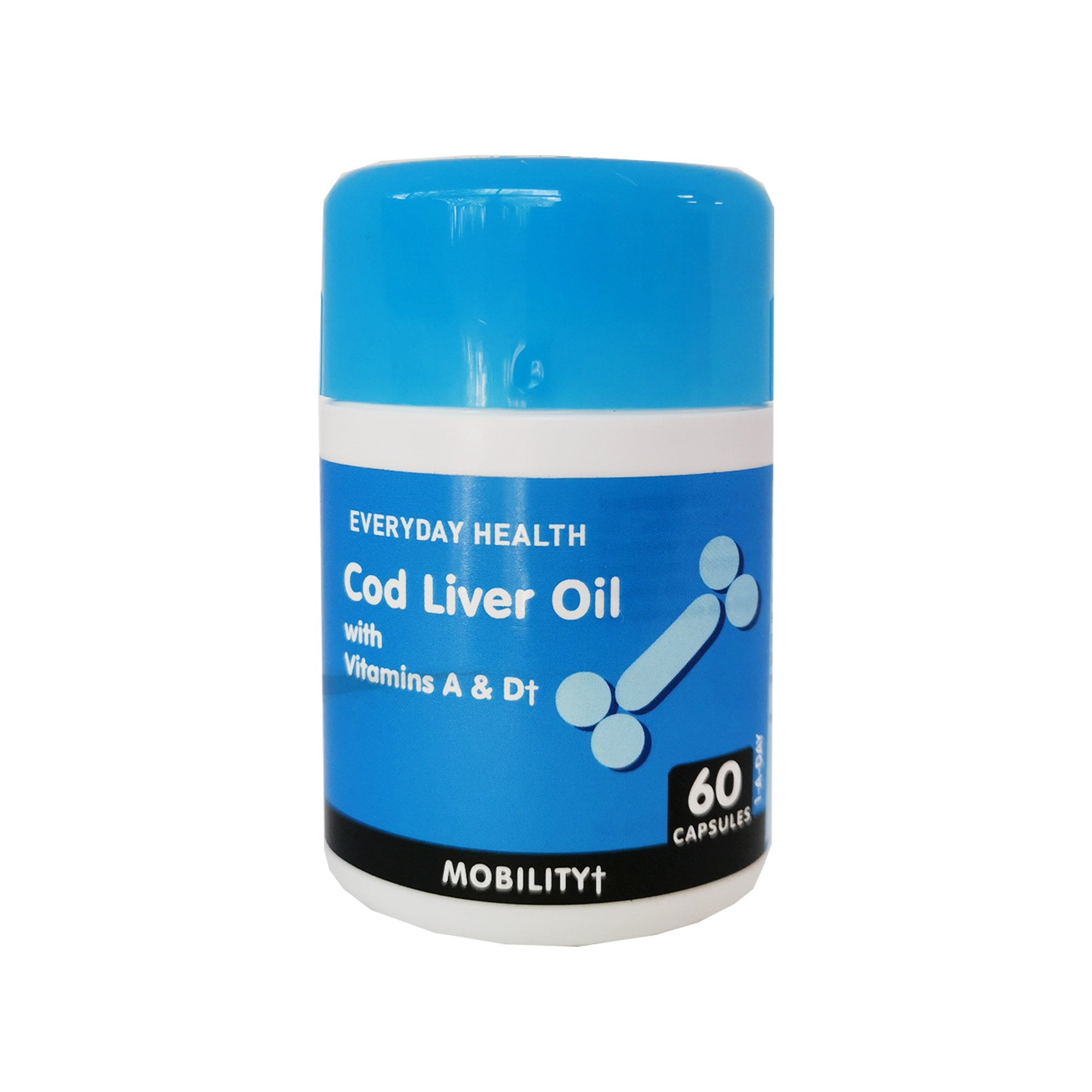 Everyday Health Cod Liver Oil 60's
