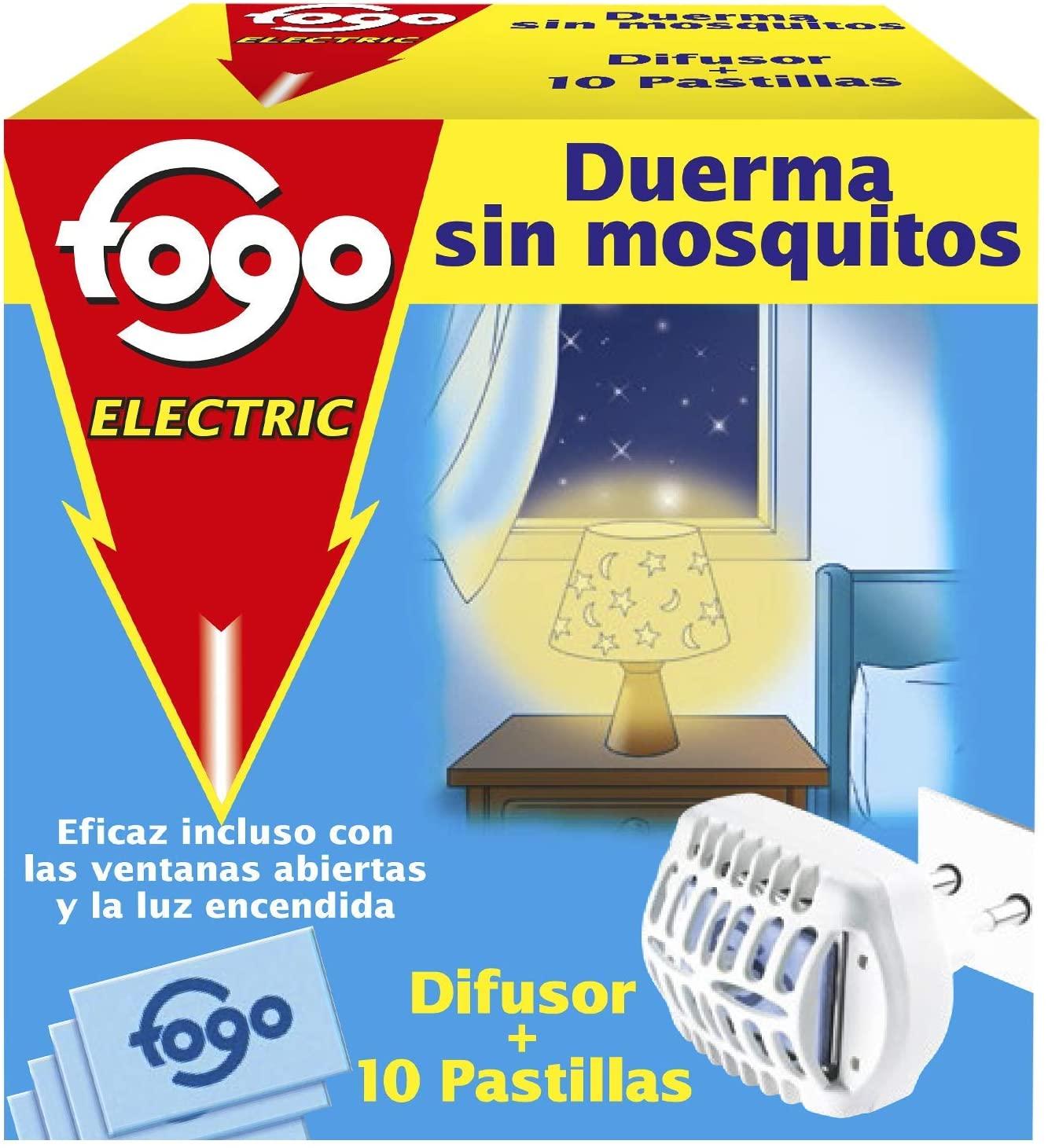 Fogo Mosquito Diffuser + 10 Inserts