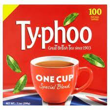 Typhoo Tea Bags, One Cup 100 bags