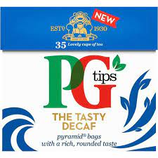 PG Tips, The Tasty Decaf 35 Bags