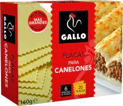 Gallo Placas para Canelones 160g
