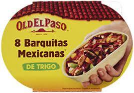 Old El Paso 8 Barquitas Mexicanas 193g