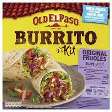 Old El Paso Burrito the Kit (serves 4)