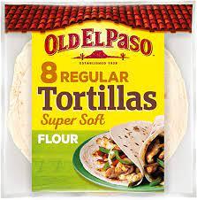 Old El Paso 8 Regular Tortillas