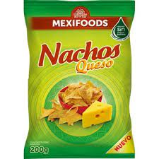 Mexifoods Nachos with Cheese 200g