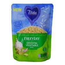 Tilda Everyday Oriental Vegetable Rice 250g
