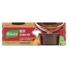 Knorr Beef Stock Pot x 4