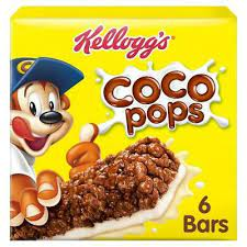 Kellogg's Coco Pops Cereal Bar (6 x 20g)