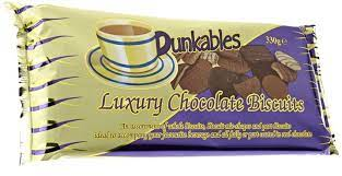 Dunkables Luxury Chocolate Biscuits 330g