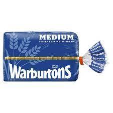 Warburtons Medium White Bread 800g