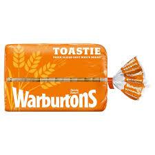 Warburtons Toastie White Bread 800g