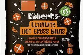 Roberts Ultimate Hot Cross Buns 470g