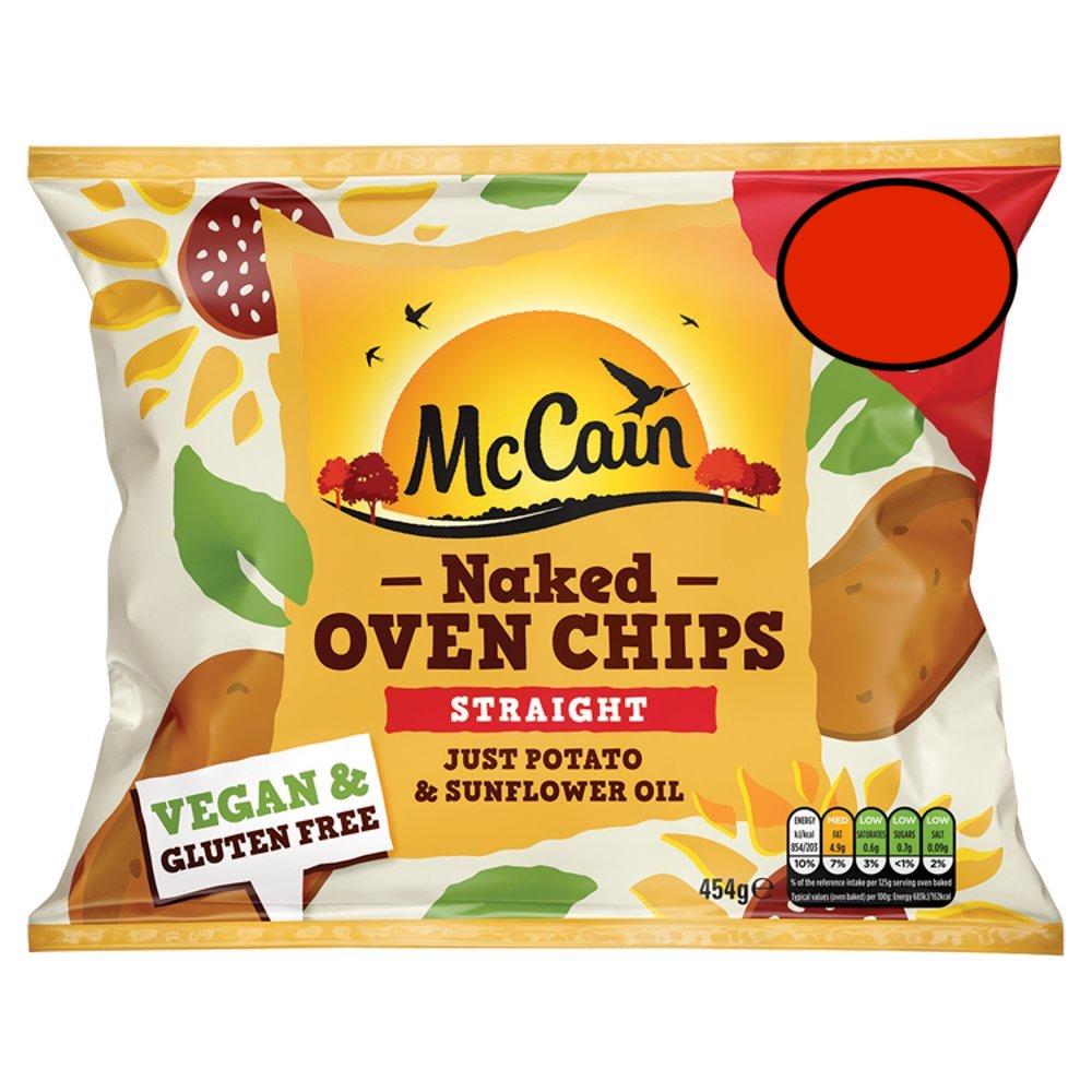 McCain Naked Oven Chips 454g