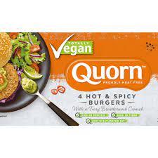 Quorn Totally Vegan, Hot & Spicy Burger 264g