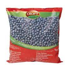 Crops Frozen Blueberries 1kg