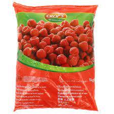 Crops Frozen Raspberries 1kg