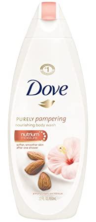 Dove Almond Cream Body Wash 500ml
