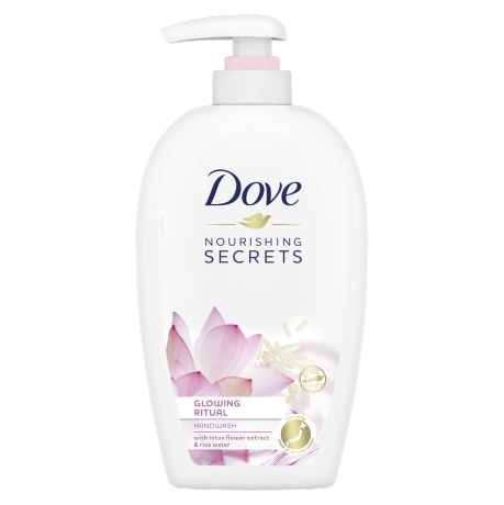 Dove Hand Wash Lotus Flower 250ml
