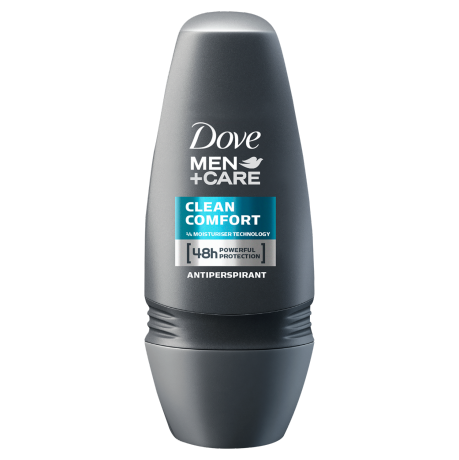 Dove Clean Comfort Roll On 50ml