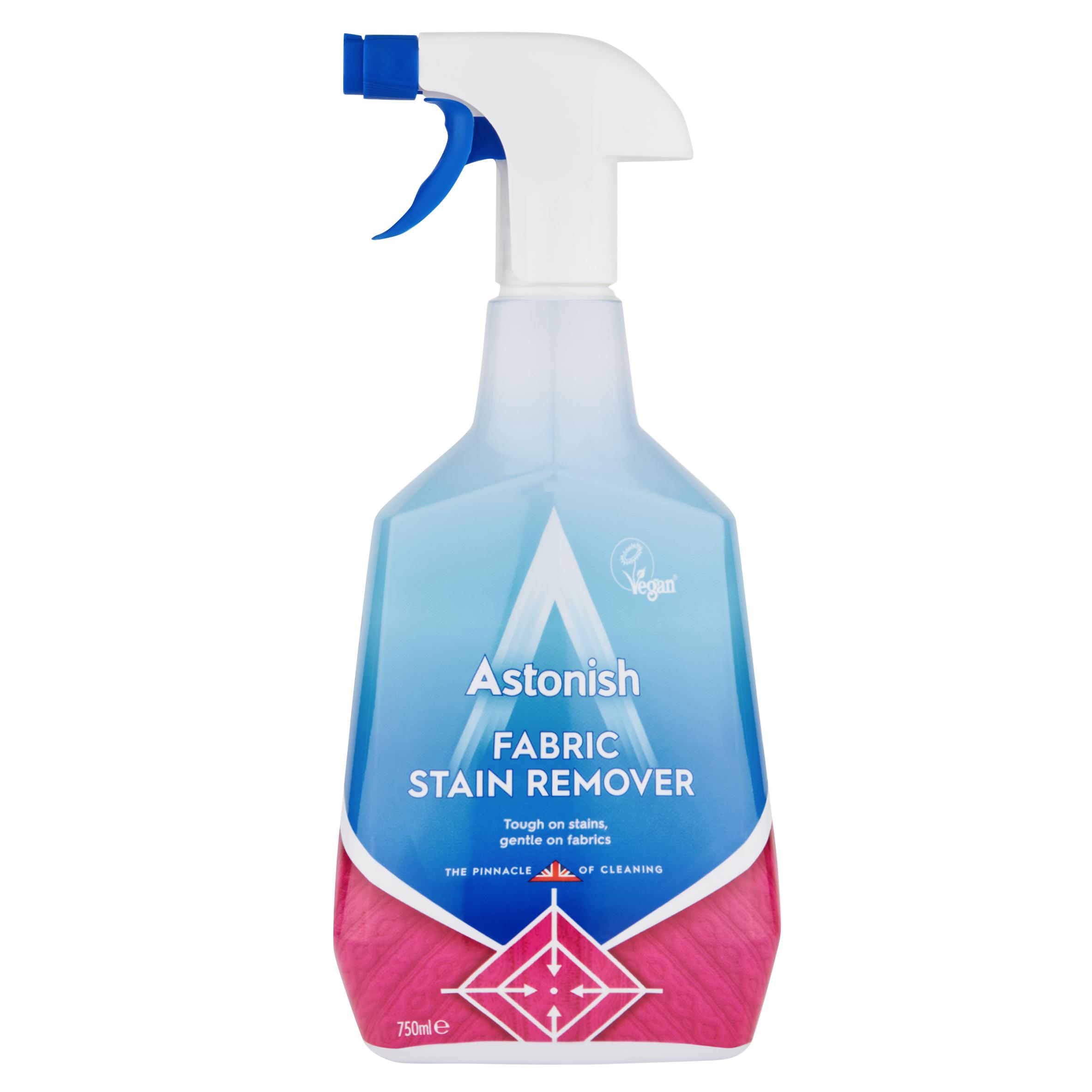 Astonish Fabric Stain Remover Spray 750ml