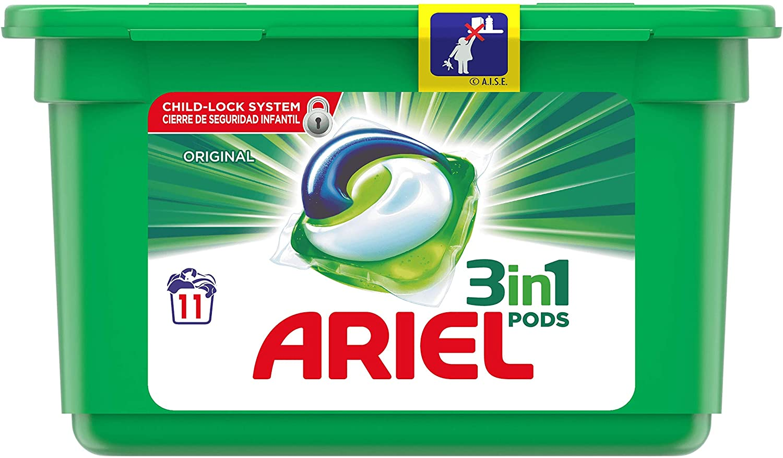 Ariel 3 in 1 Pods (11 washes)
