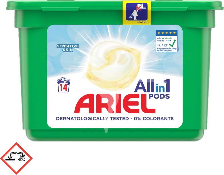 Ariel all in 1 Sensitive Pods (14)