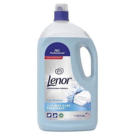 Lenor Fabric Softener 4L (Sea Breeze)