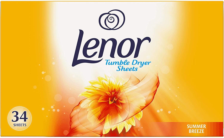 Lenor Tumble Dryer Sheets (34)