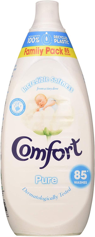 Comfort Pure Fabric Softener (85 Washes)