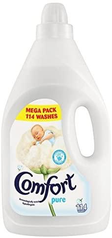 Comfort Pure Fabric Softener (114 Washes)