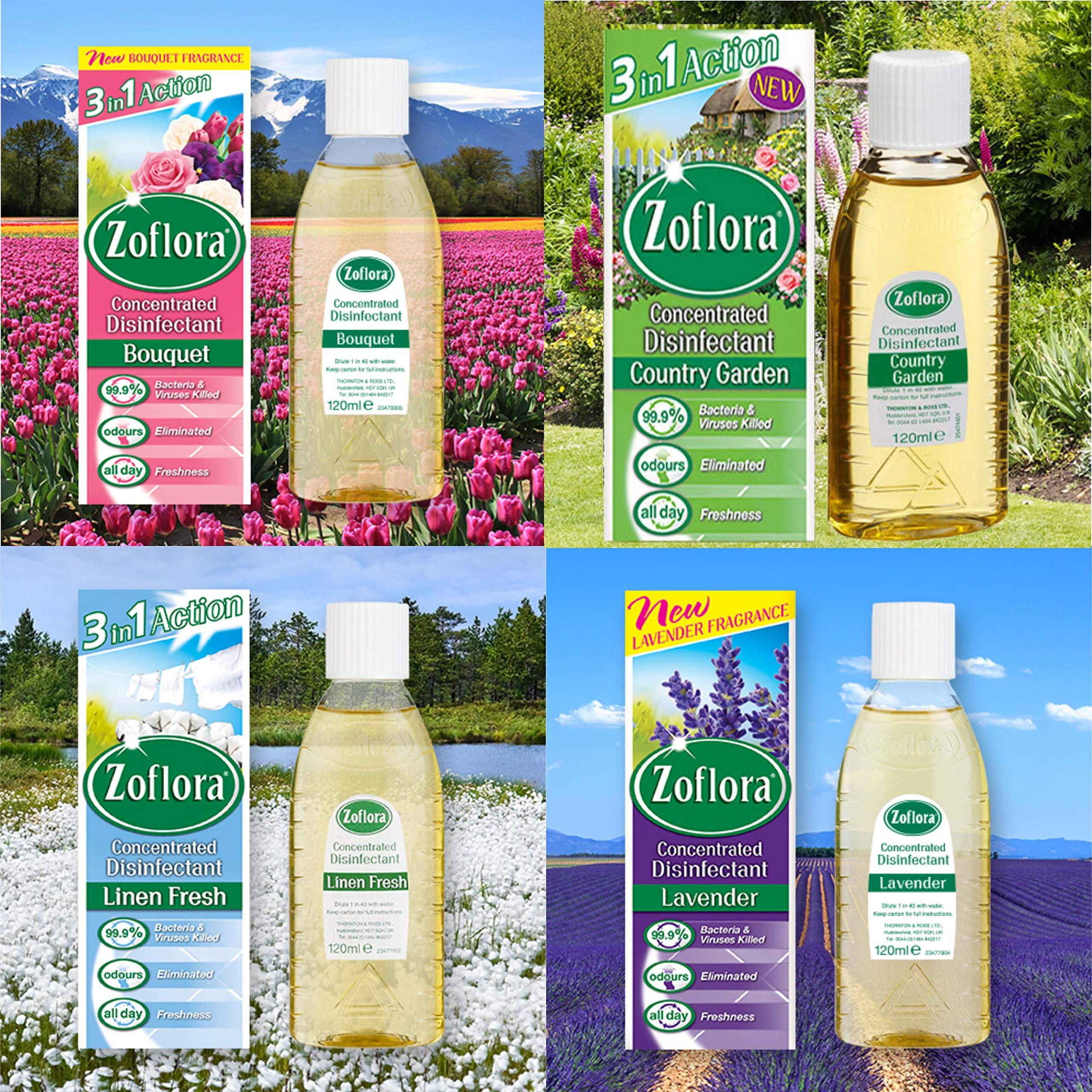 Zoflora Assorted 120ml (each)