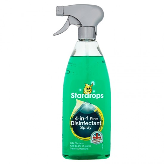 Stardrops 4 in 1 Disenfectant Spray 750ml