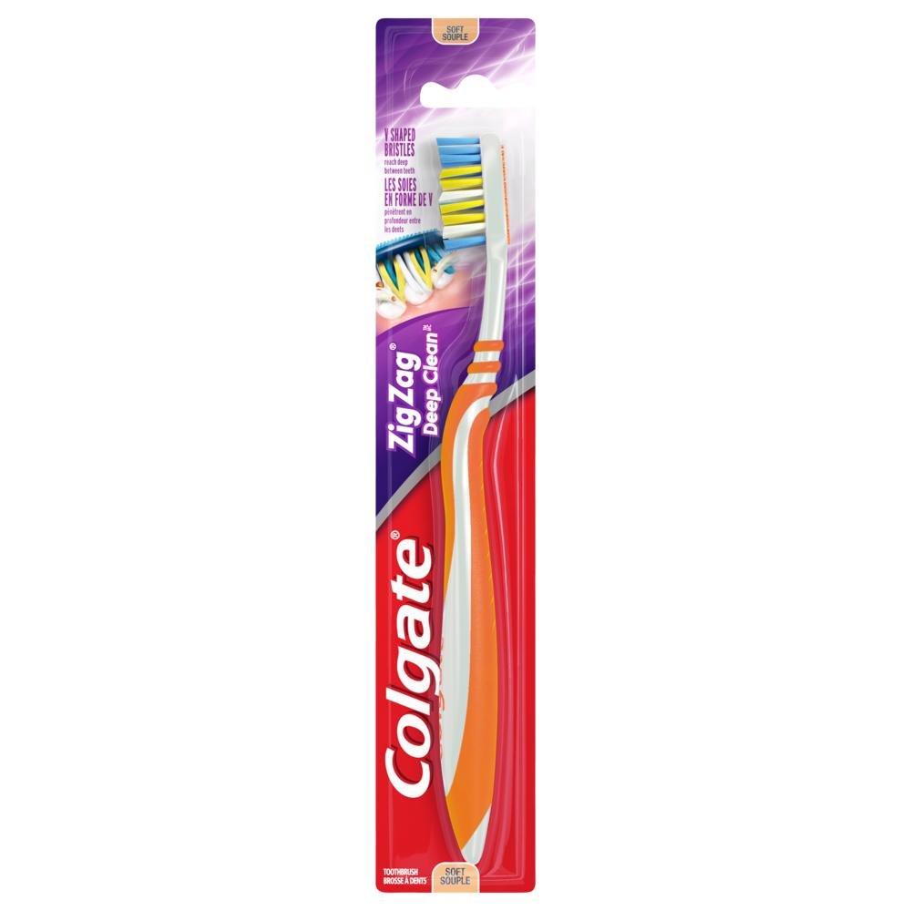 Colgate ZigZag Deep Clean Toothbrush