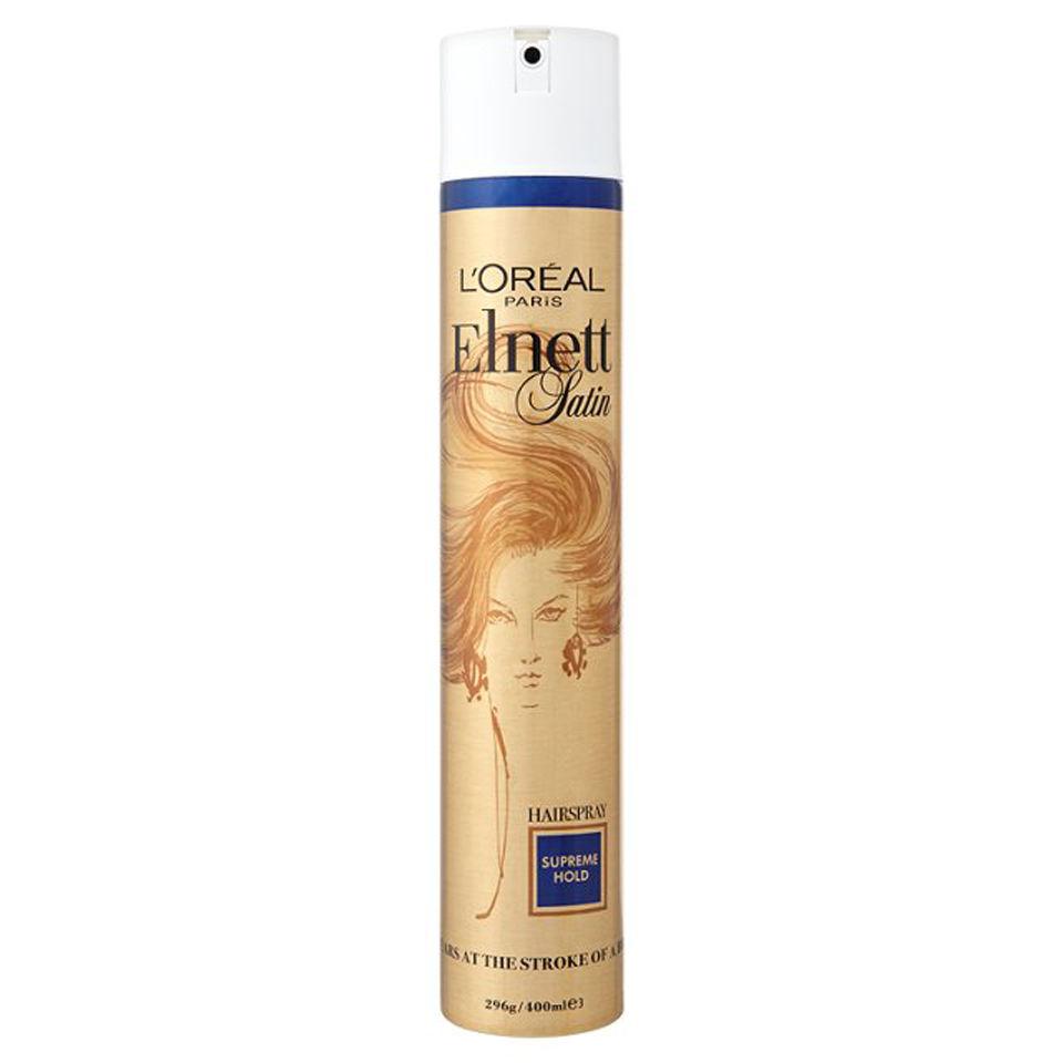 L'Oréal Paris Elnett Satin Strong Hold Hairspray 400ml