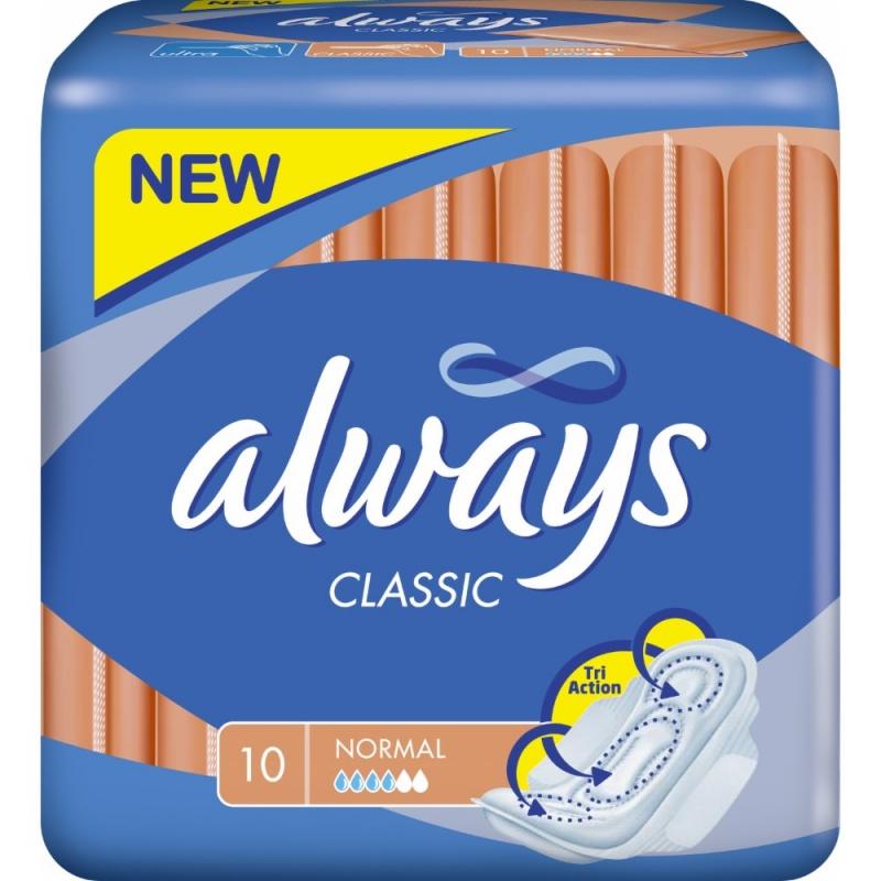 Always Classic Wings x10