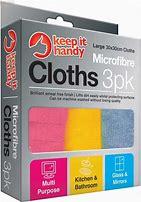 Keep it Handy Microfibre Cloths (3pk)